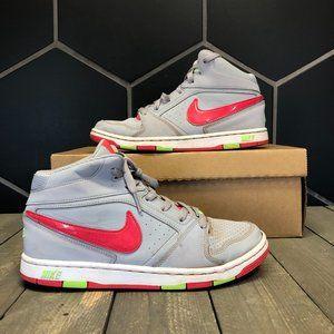 Womens Nike Prestige 4 High Grey Red Size 8